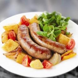 Колбаски из говядины