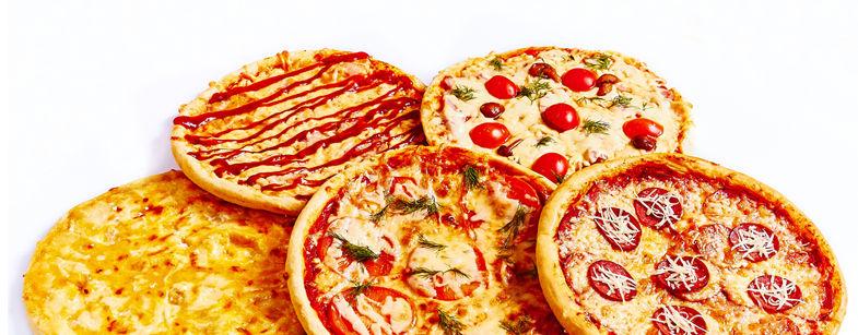 промо-набор пицц за 1000 руб